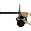 Egyedi kézzel készített Maxim ágyú replika fából